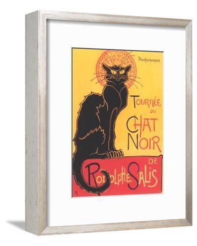 French Poster for Chat Noir Cabaret--Framed Art Print