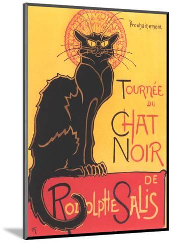 French Poster for Chat Noir Cabaret--Mounted Giclee Print