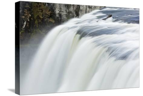 Upper Mesa Falls, Targhee National Forest-Paul Souders-Stretched Canvas Print