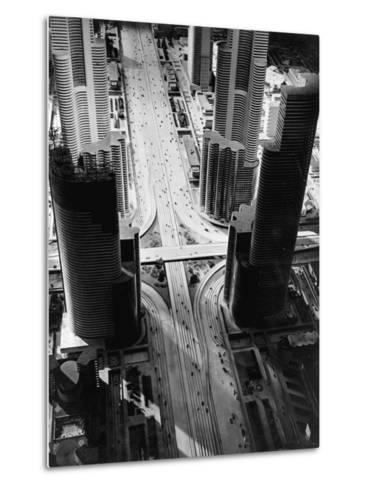 Futurama City of 1960--Metal Print