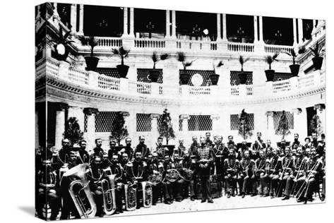 John Sousa and United States Marine Corps Band--Stretched Canvas Print