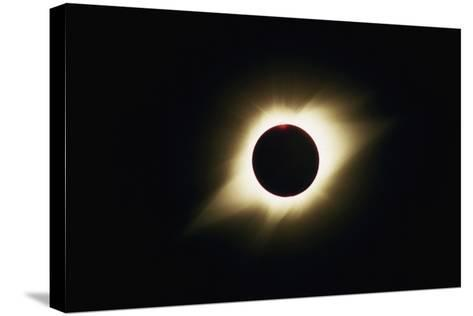 Solar Corona During Total Eclipse-Roger Ressmeyer-Stretched Canvas Print