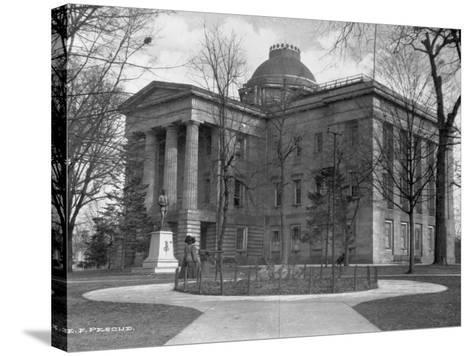 North Carolina State Capitol-E. F. Pescud-Stretched Canvas Print