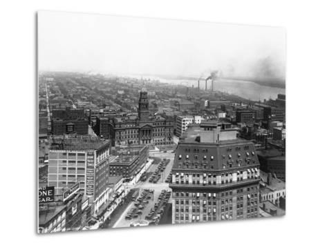 Wayne County Building in Detroit, Michigan--Metal Print