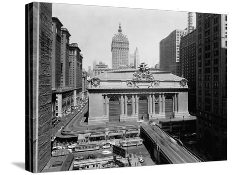 Grand Central Station in Manhattan--Stretched Canvas Print