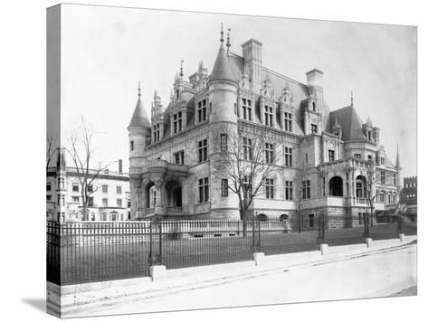 Charles M. Schwab Mansion, New York--Stretched Canvas Print