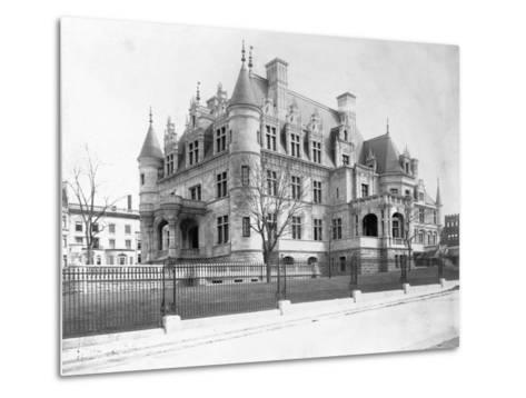 Charles M. Schwab Mansion, New York--Metal Print