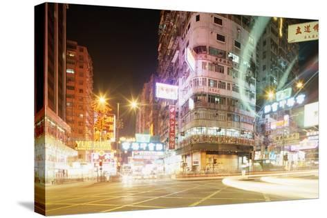 Neon Signs of Tsim Sha Tsui-Paul Souders-Stretched Canvas Print