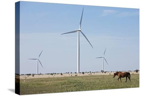 Wind Farm, Vega, Texas-Paul Souders-Stretched Canvas Print