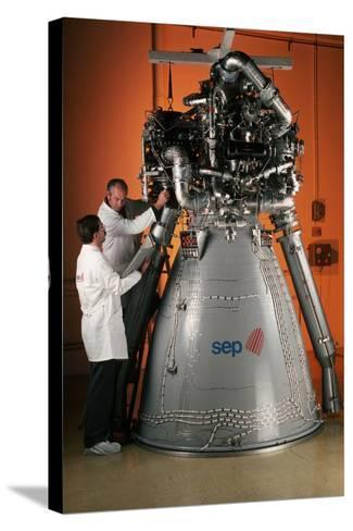 Vulcain Engine of Ariane 5-Roger Ressmeyer-Stretched Canvas Print