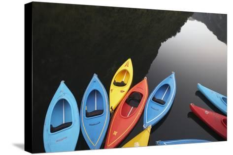 Kayaks-Paul Souders-Stretched Canvas Print