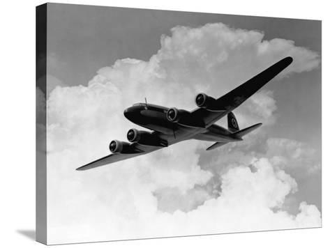 Focke-Wulfe Fw 200 Condor in Flight--Stretched Canvas Print