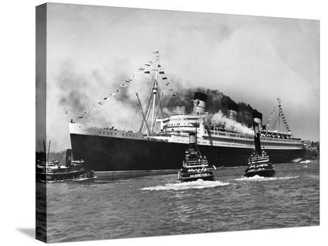Queen Mary Surrounded--Stretched Canvas Print