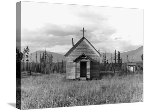 Abandoned Church-Dorothea Lange-Stretched Canvas Print
