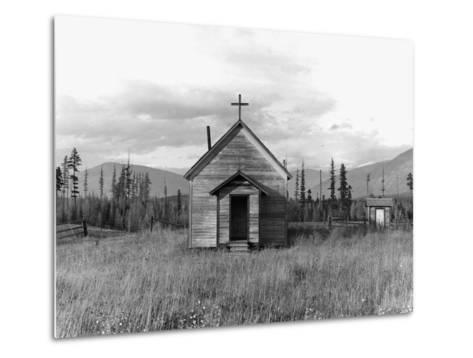 Abandoned Church-Dorothea Lange-Metal Print