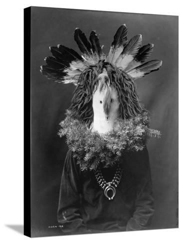 Haschogan - Navaho-Edward S^ Curtis-Stretched Canvas Print
