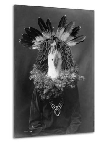 Haschogan - Navaho-Edward S^ Curtis-Metal Print