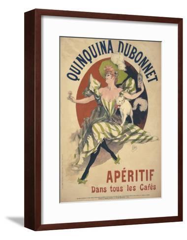 Quinquina Dubonnet-Jules Ch?ret-Framed Art Print