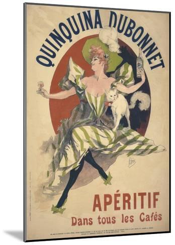 Quinquina Dubonnet-Jules Ch?ret-Mounted Giclee Print