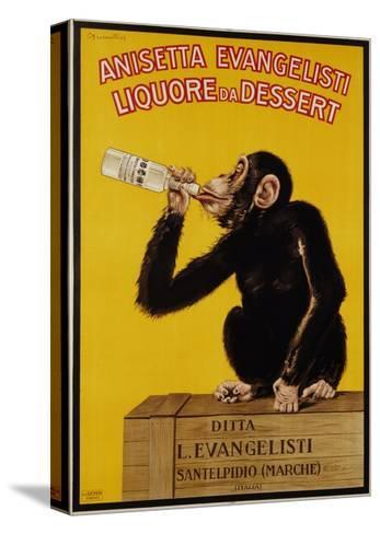 Anisetta Evangelisti Liquore Da Dessert Poster-Carlo Biscaretti Di Ruffia-Stretched Canvas Print