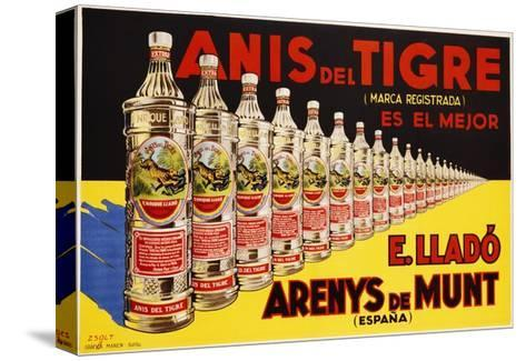 Anis Del Tigre Alcoholic Beverage Poster-Zsolt-Stretched Canvas Print