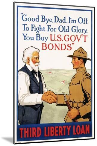 Third Liberty Loan Poster-Laurence Harris-Mounted Giclee Print