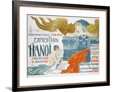 Exposition De Hanoi-Clementine-helene Dufau-Framed Art Print
