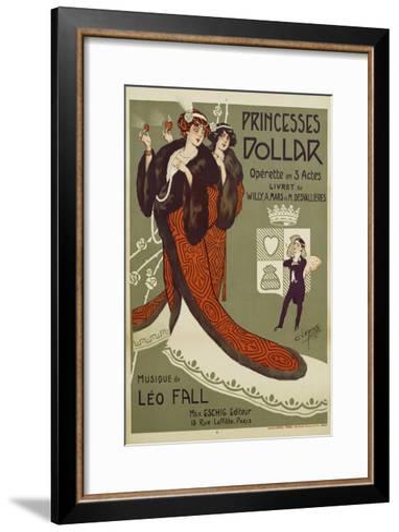 Princesses Dollar Poster-Clerice Freres-Framed Art Print