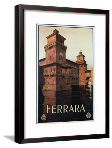 Ferrara Poster-Mario Borgoni-Framed Art Print