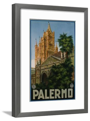 Palermo Poster-A. Ravaglia-Framed Art Print