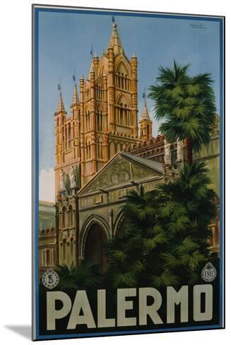 Palermo Poster-A. Ravaglia-Mounted Giclee Print