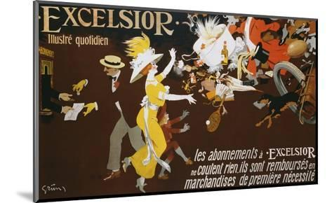 Excelsior Poster-Jules-Alexandre Gr?n-Mounted Giclee Print