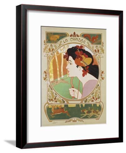 La Chasse Poster-Medaille-Framed Art Print