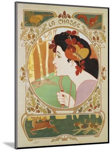 La Chasse Poster-Medaille-Mounted Giclee Print