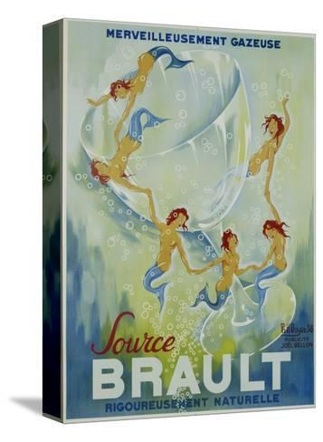 Source Brault Poster-P.H. Noyer-Stretched Canvas Print