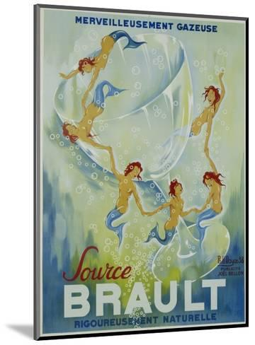 Source Brault Poster-P.H. Noyer-Mounted Giclee Print