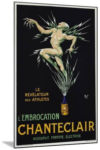 Chanteclair Poster--Mounted Giclee Print