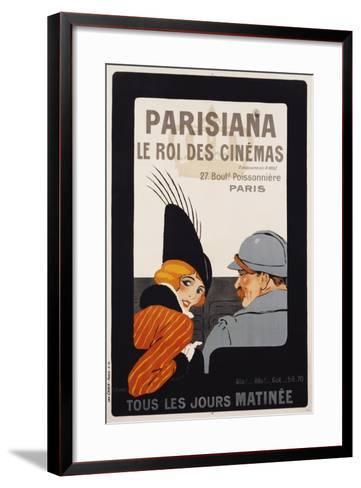 Parisiana Le Roi Des Cinemas Poster-R^ Pichon-Framed Art Print