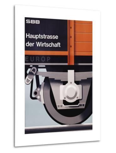 Hauptstrasse Der Wirtschaft Poster-Hans Hartmann-Metal Print