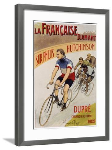 La Francaise Diamant Poster-Pierre Gonzague Privat-Framed Art Print