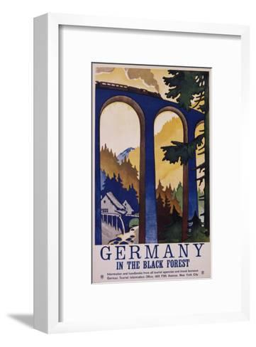 Germany in the Black Forest Poster-Friedel Dzubas-Framed Art Print