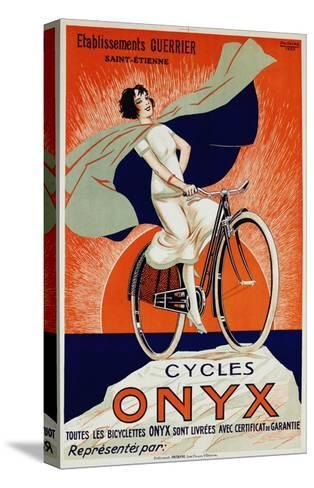Onyx Cycles-Fritayre-Stretched Canvas Print