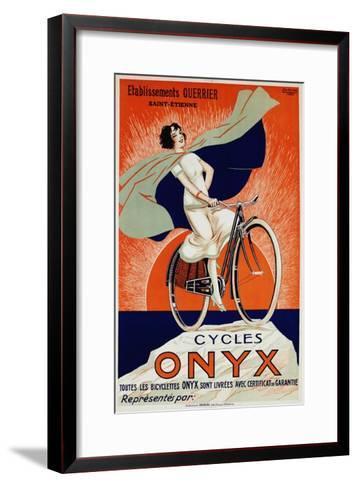 Onyx Cycles-Fritayre-Framed Art Print
