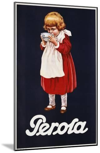 Perola Hot Chocolate Advertisement Poster--Mounted Giclee Print