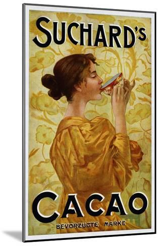 Circa 1905 Belgian Poster for Suchard's Cacao--Mounted Giclee Print