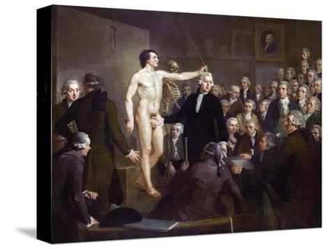 Anatomy Lecture-Adriaan De Lelie-Stretched Canvas Print