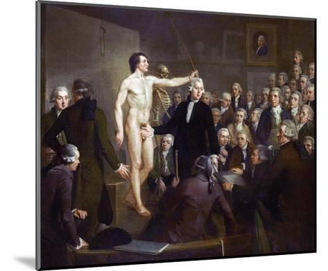 Anatomy Lecture-Adriaan De Lelie-Mounted Giclee Print