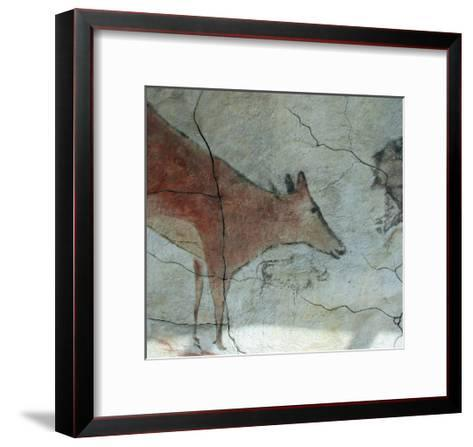 Replica of Cave Painting of Doe from Altamira Cave--Framed Art Print