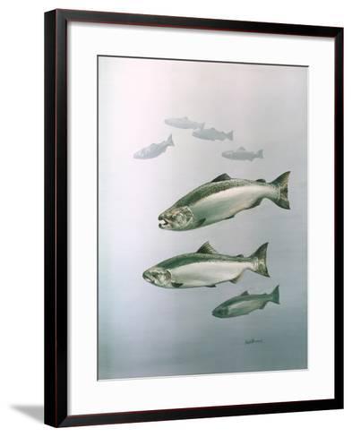 King Salmon--Framed Art Print