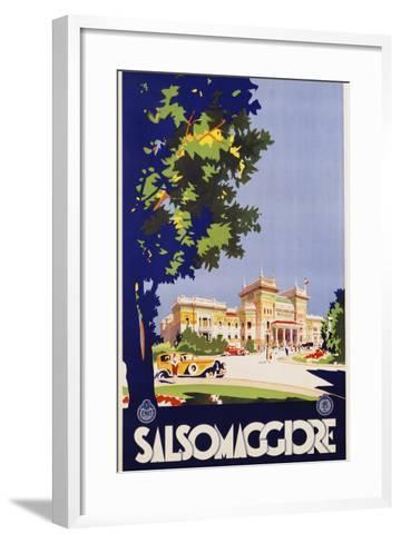 Salsomaggiore Poster--Framed Art Print